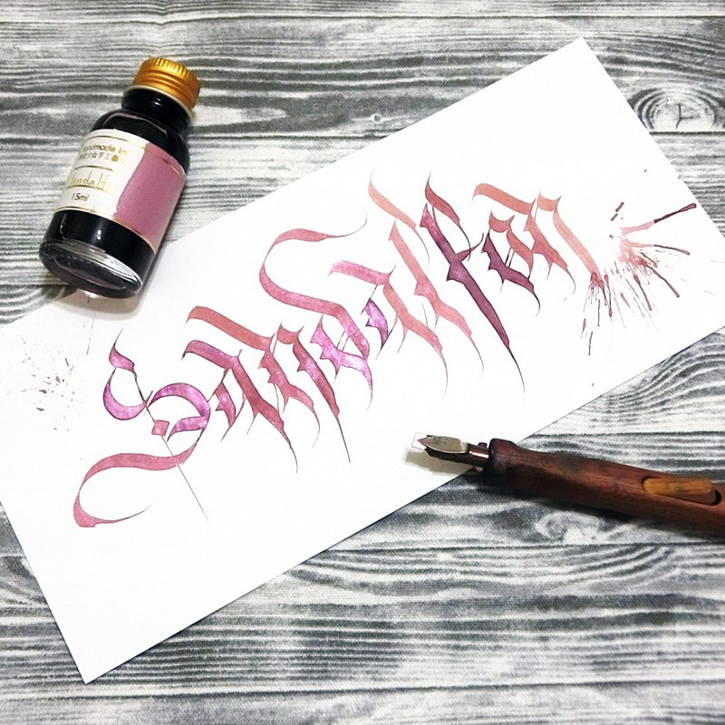 [hand ink] angel series - Saint Defen