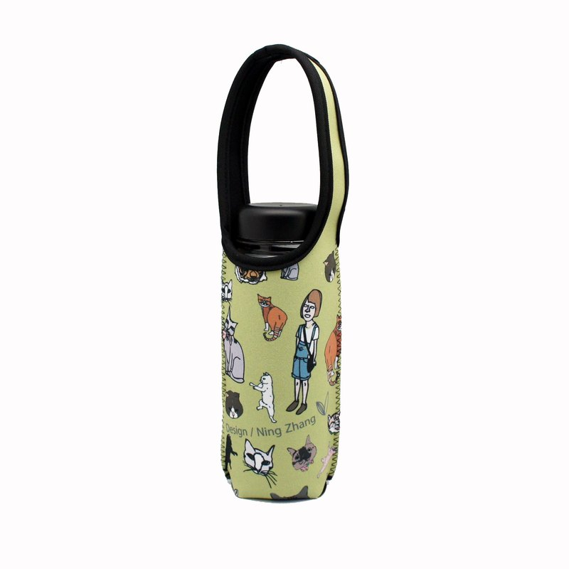 BLR Water Bottle Tote Ning [ Cat ] TC12