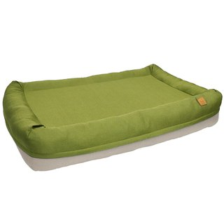 Lifeapp Air Castle Air Bed / Mustard Green / L Complete set removable and washable