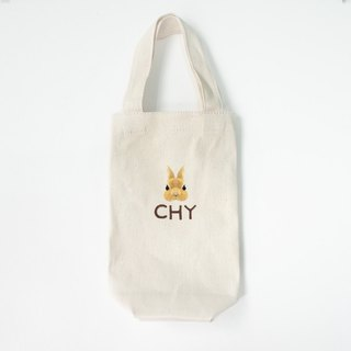 [Q-cute] Kettle bag series - rabbit head plus word / customized