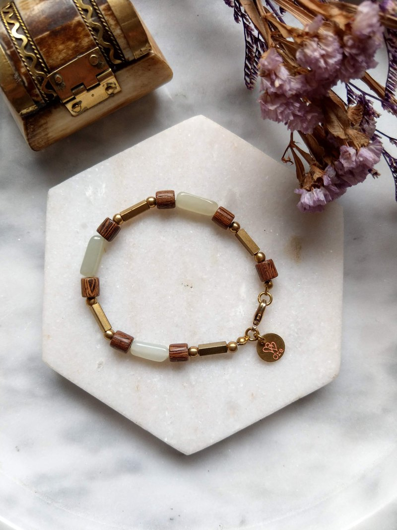 Oˋre Silver bracelet series steel rope bracelet and Tianyu brass 22 with designer exclusive wooden box