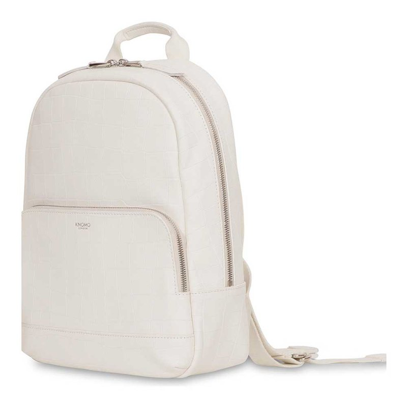 Mini Mount 10吋 Leather Backpack (White)