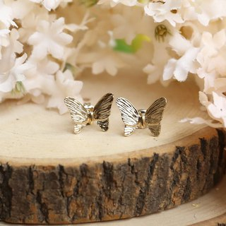 Luccica Golden Butterfly Earrings