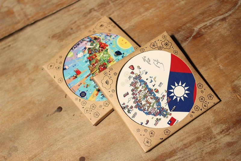JB Design Wenchuang Ceramic Waterproof Coaster