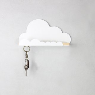 Metal House Cloud <Shelf Storage Key Ring X'mas>