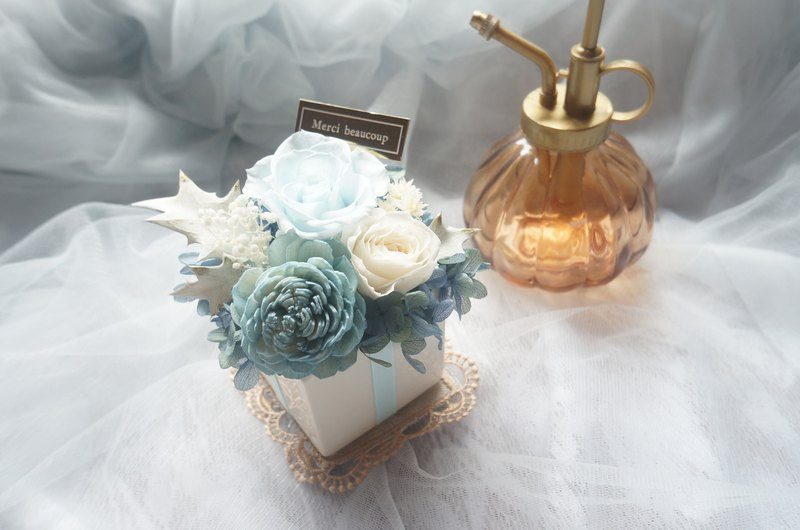 Island Blue Rose fragrance flower ceremony