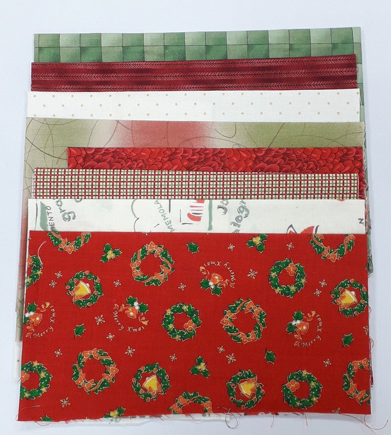 Christmas color combination cloth