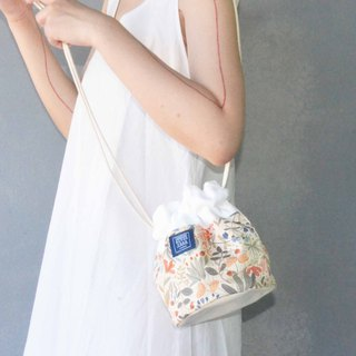 Side Bucket Bag _ Secret Garden