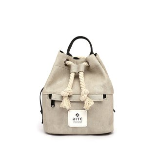 [RITE] Le Tour Series - Dual-use Boxing Small Backpack - Mao Qing Gray