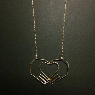Wire Necklace <Heart>