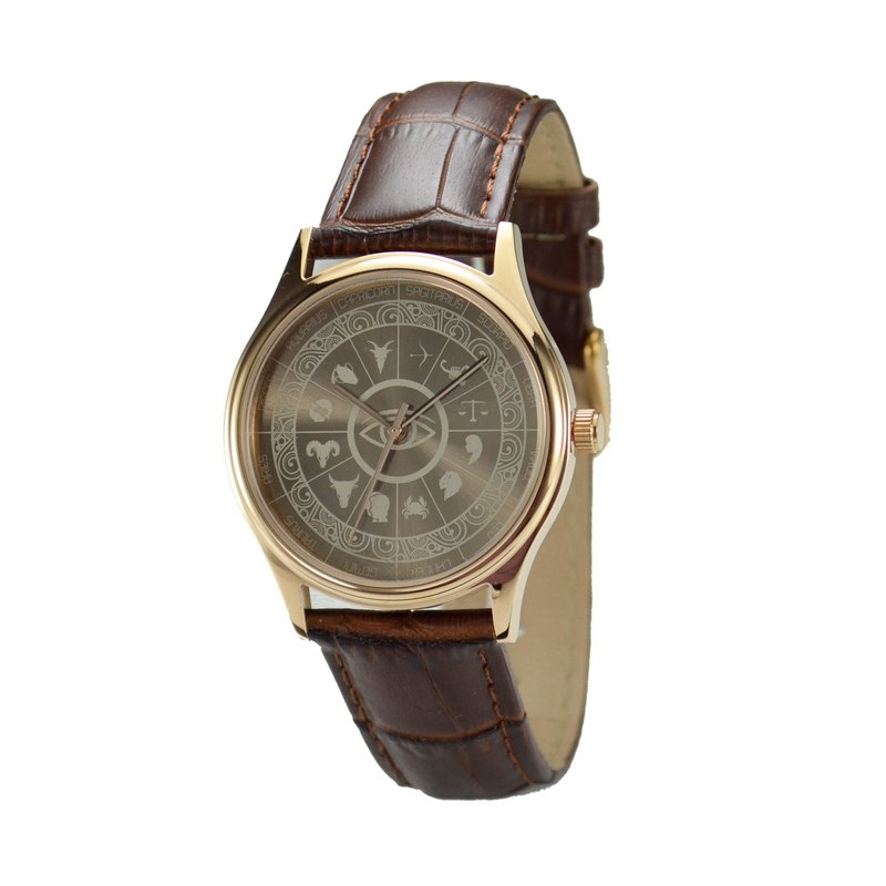 Just2you12 Constellation Circle Watch (Sunray) Rose Gold Free Shipping Worldwide