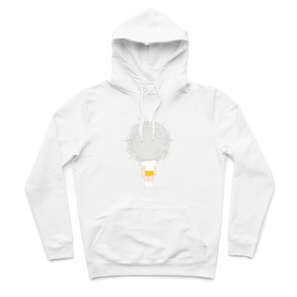 Bear Bear - White - Hooded T-Shirt
