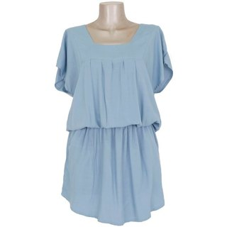 Elegant and cute browsing dress for adults <Blue>