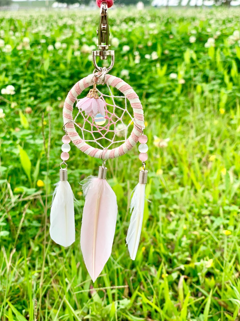 Dreamcatcher Charm---With Dreams / Pink
