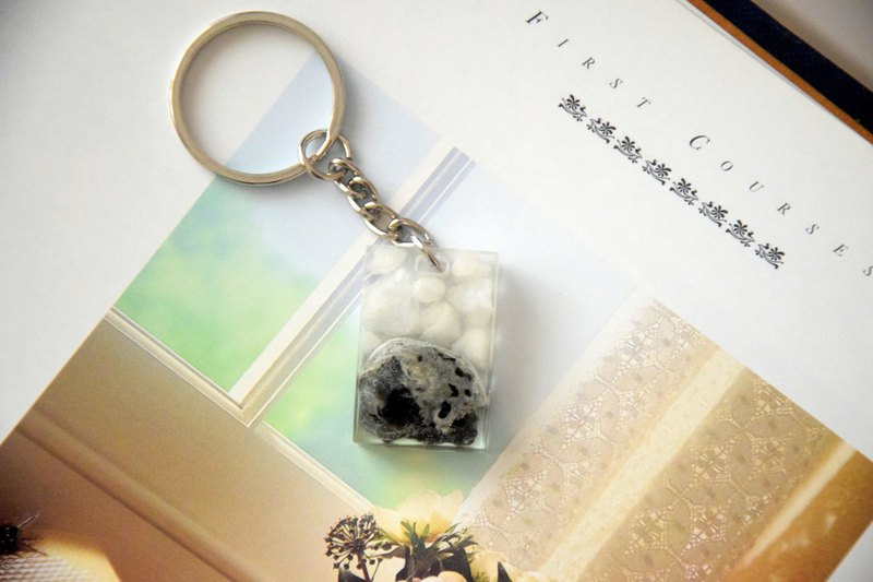 The Moon Surface Handmade Key Chain/Bag Chain