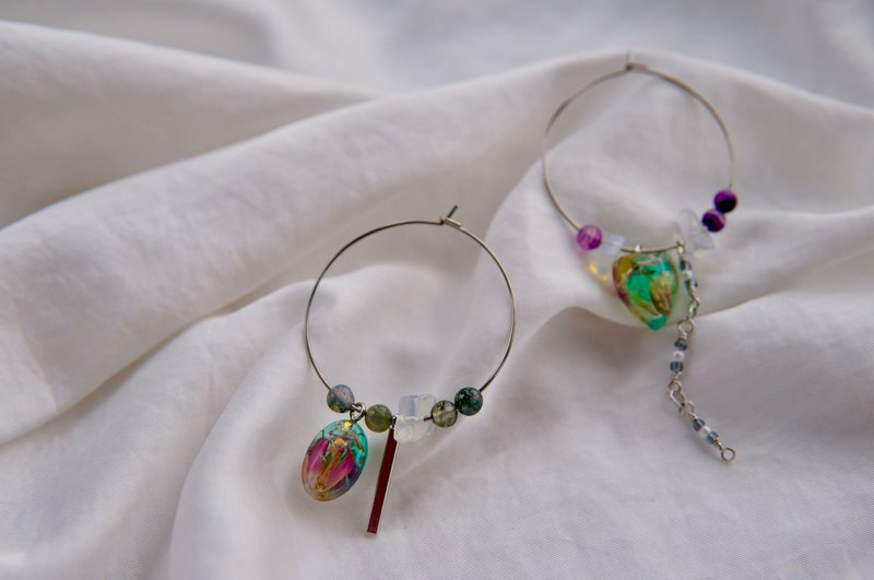 【 Dry Flower Earrings】Continuous