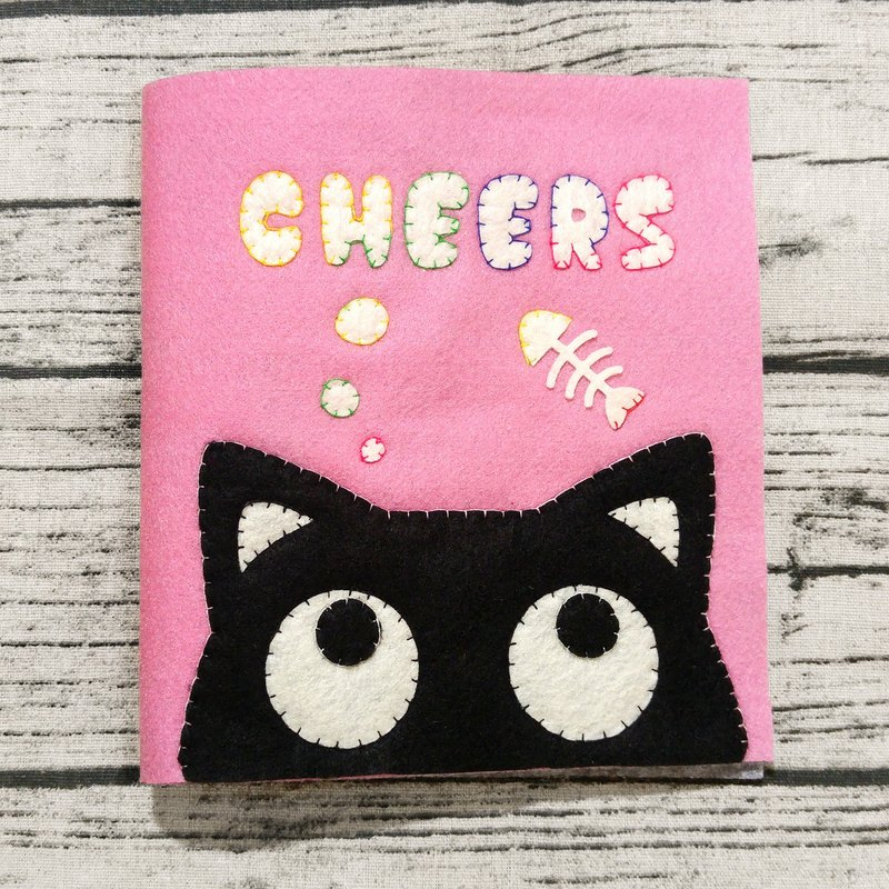 Handmade Quiet Book【4 pages】 [C05]  Hey Cat