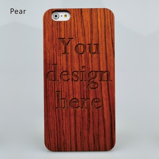 Custom-made Case For Iphone 8 X 7 6 Samsung Galaxy S7 S8 Plus Wooden Iphone Case