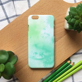 Green lake. Matte Case( iPhone, HTC, Samsung, Sony, LG, OPPO)