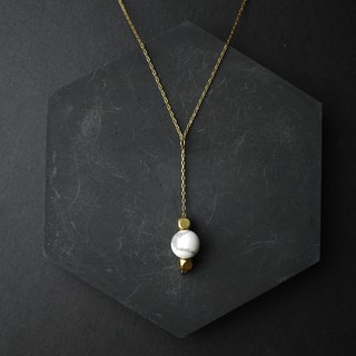 Pendulum - Brass Necklace