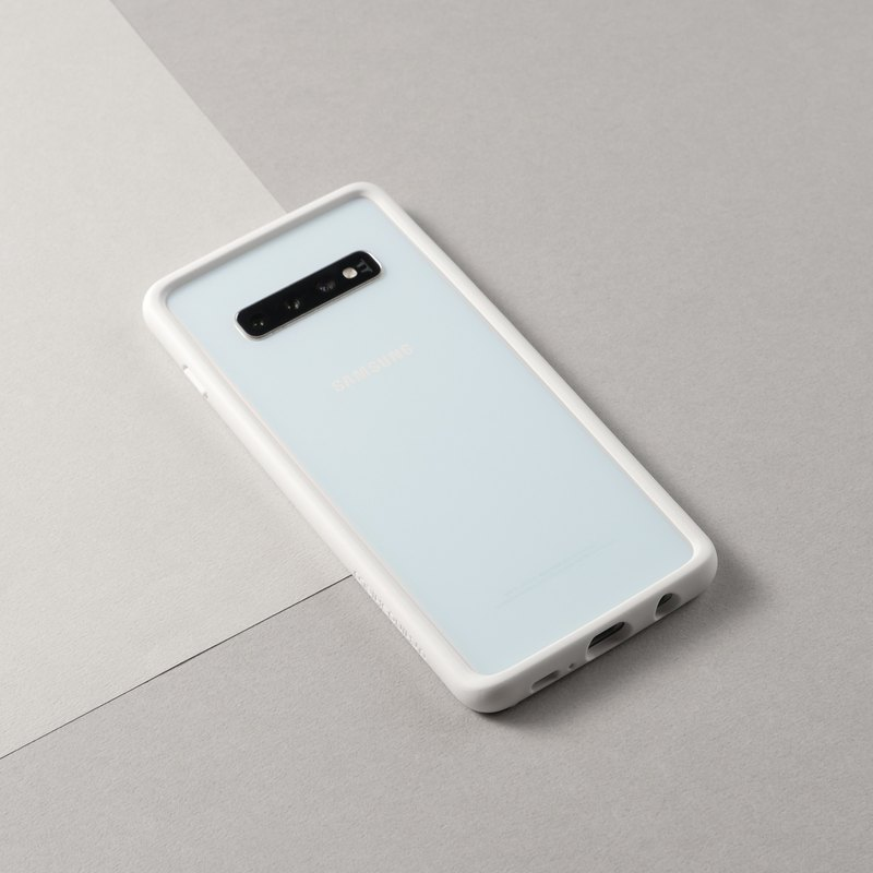 CrashGuard Drop Frame Mobile Phone Case - White / for Samsung Galaxy S10 Series