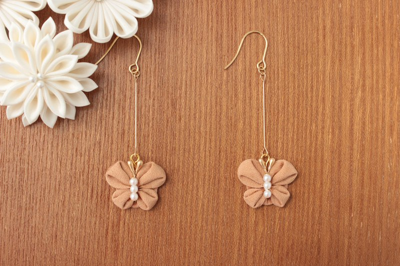 Japanese style butterfly earrings