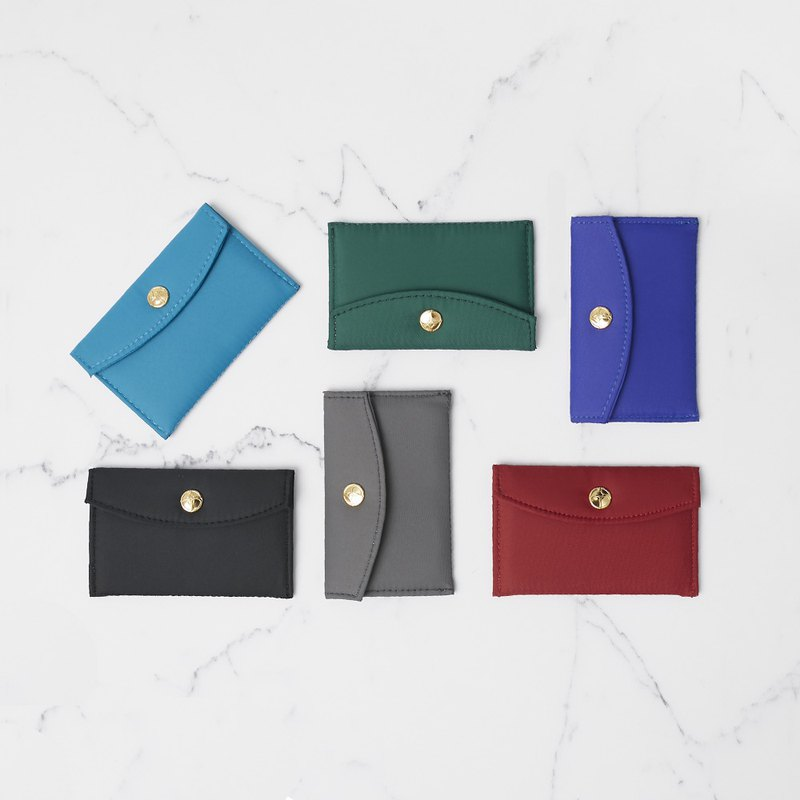 Umbrella cloth residual material recycling series - anti-waterproof coin purse storage bag business card set