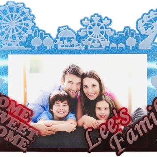Custom engraved photo frame (4R photo) - A theme x our a personal