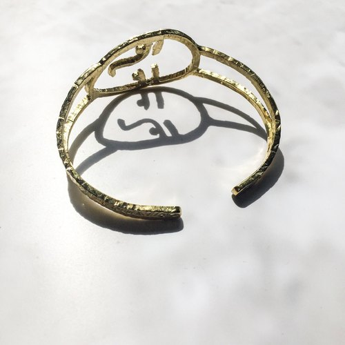 Bracelets people - Human face Bangle.