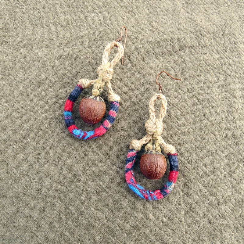 :: Botanical Jewelry :: Fruit Seed Earrings