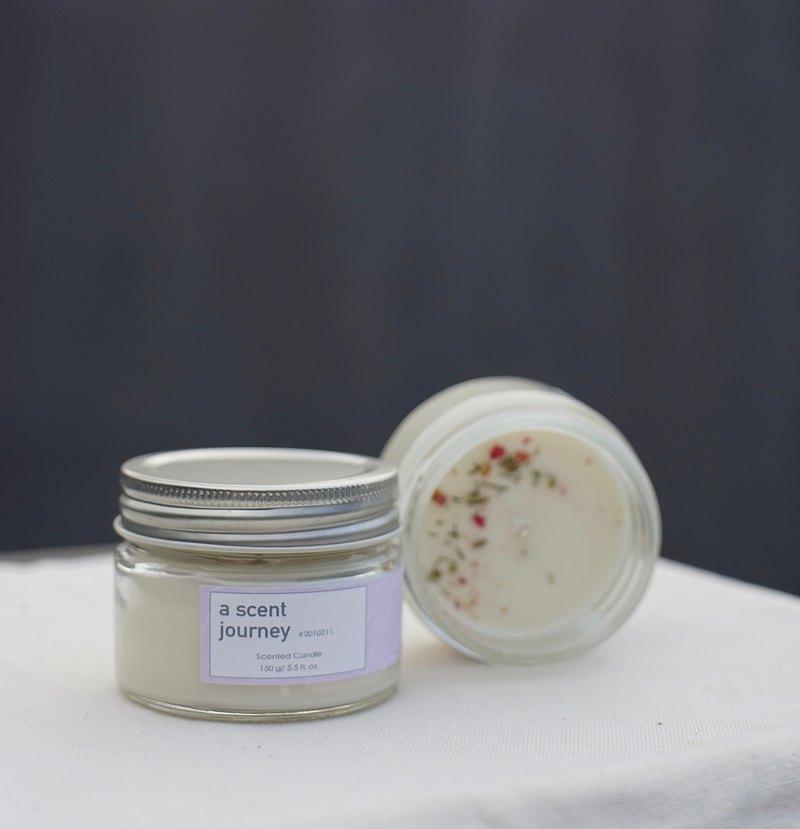 香氛驚喜訂製。礦石精油蠟燭-探索屬於你此刻的香氣