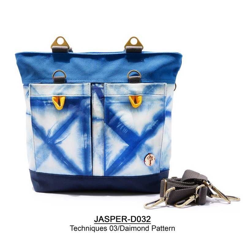 Multifunctional Tie Dye Tote bag No.1 JASPER/D032