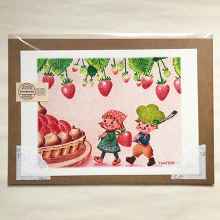 Strawberry forest tart poster no.145