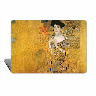 Klimt, Gold Adele Macbook case for MacBook Pro Touch bar, Pro Retina 13, MacBook 12, MacBook Air 11, MacBook Pro 15 Retina, MacBook Air 13 1759