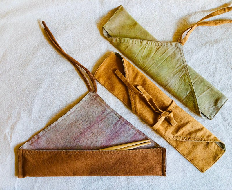 Plant dyeing original folk air chopsticks bag