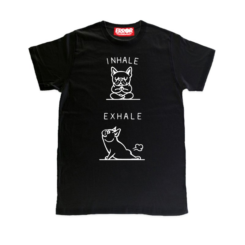 PUG Life • Inhale Frenchie • Unisex T-shirt