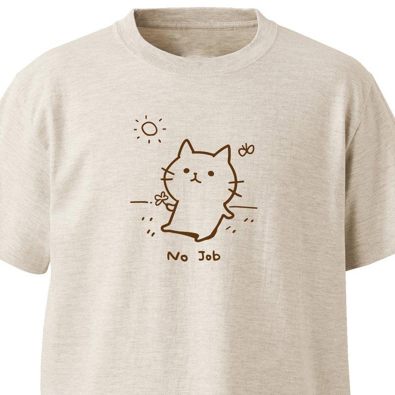 No Job【Oatmeal】ekot T-shirt插畫-Taka【笹川笹子】