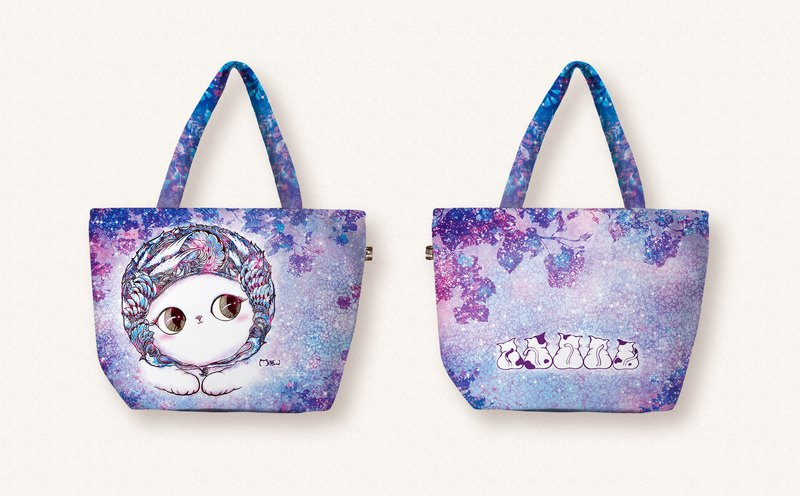 [Good 喵 - horizontal shopping bag] 2 packs