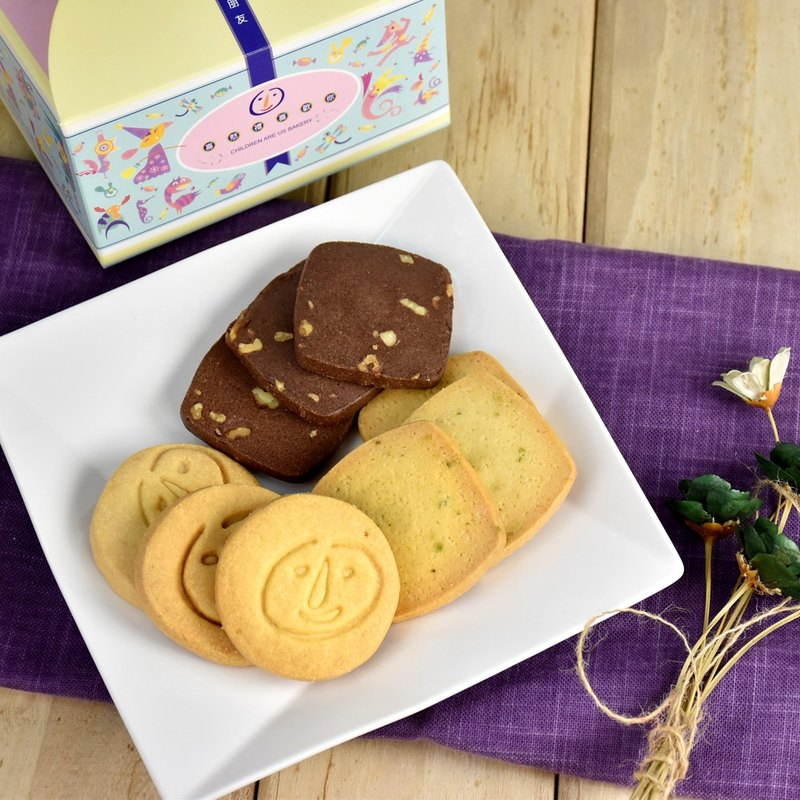 Magpie. Handmade biscuits [exclusive afternoon tea group - 10 pieces / box] single piece packaging