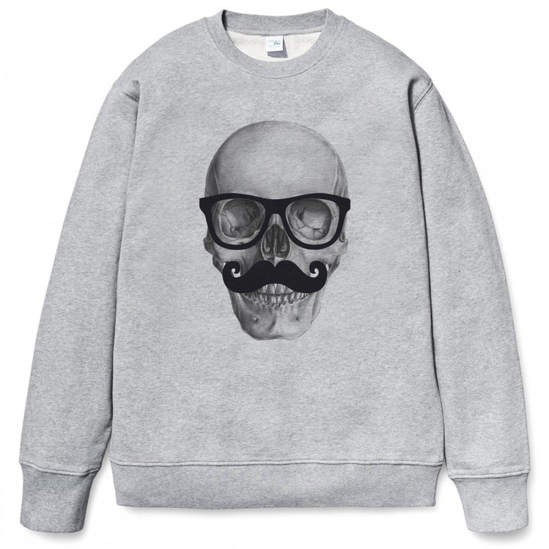Mr Skull gray sweatshirt