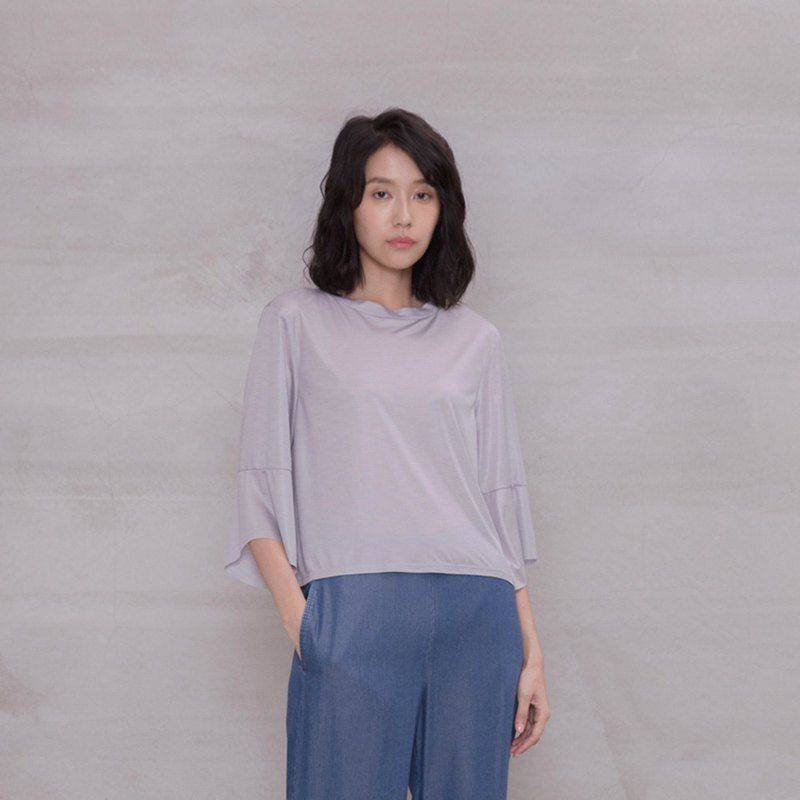 杜勒麗花廊寬袖上衣 Tuileries Frilled Sleeves Top