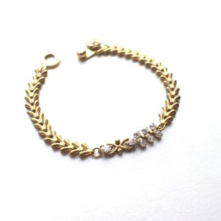 Midnight of Paris-Brass bracelet