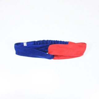 【The MAMA's Closet】Papillon (Blue with Red) / Headband