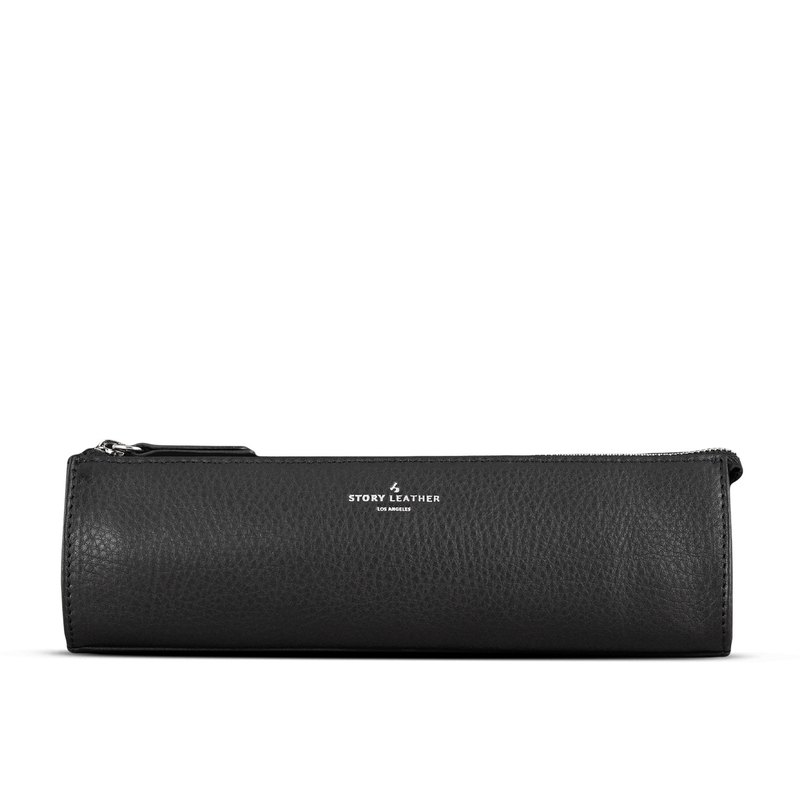 STORYLEATHER Available Style 6245 Napa black pencil case