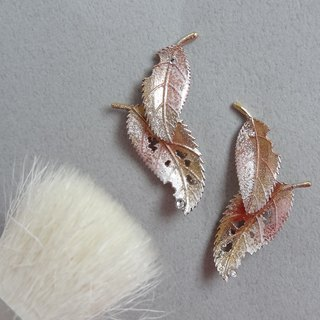秋葉耳環 Autumn leaves earrings 預購