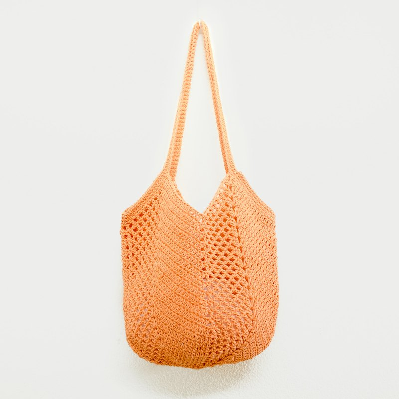 Crochet Bag | Bucket Bag - Apricot Color
