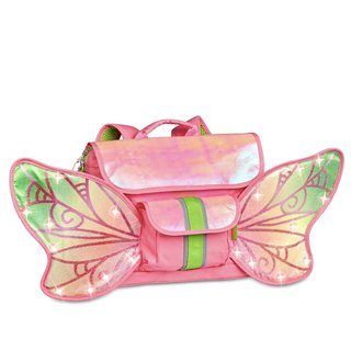 "Bixbee ""Fairy Flyer"" Kids Backpack w/ LED's - Pink"