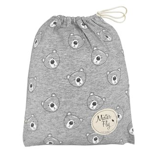 Mister Fly Baby Cushion Grey Cubs MFLY183