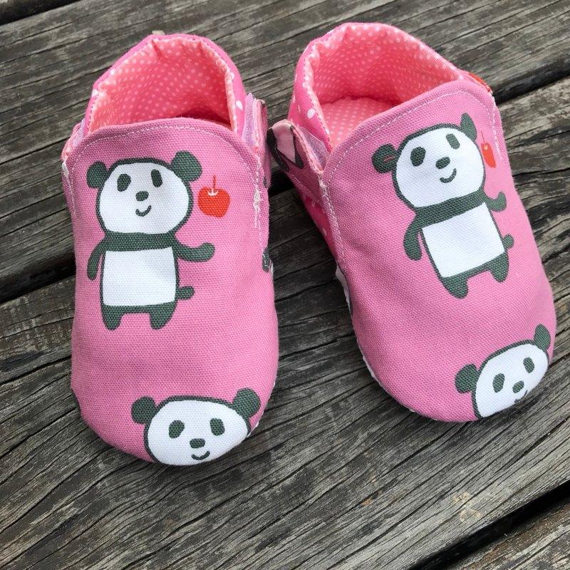 粉紅熊貓  學步鞋