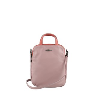 Speakeasy Washed Sheepskin Mini Shoulder Bag - Pink